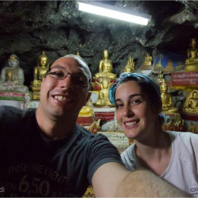 Pindaya: La grotta di Pindaya è uno dei luoghi sacri del culto Buddhista. C'è una raccolta di oltre 8000 statue di Buddha donate da persone di tutto il mondo. In fondo alla grotta attraverso un'apertura strettissima, difficile da scovare che si attraversa carponi, si accede ad una piccola grotta dove si può stare al più seduti
