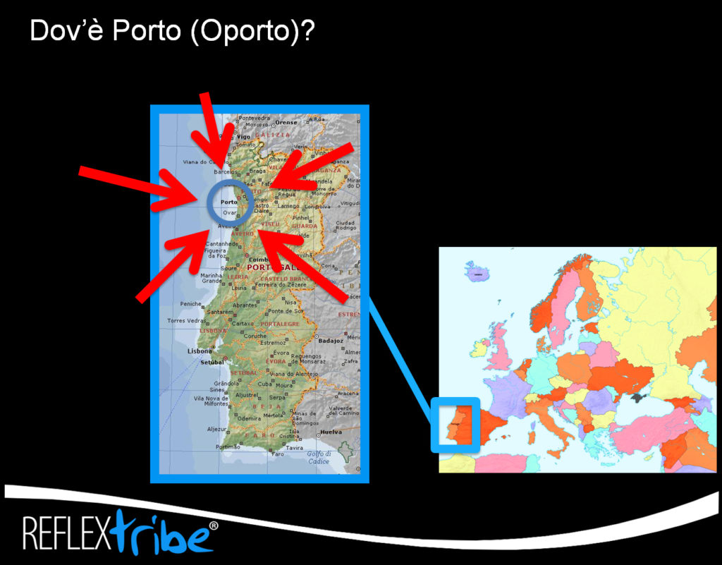 Viaggi-fotografici-Oporto-ReflexTribe-Torino-mappa