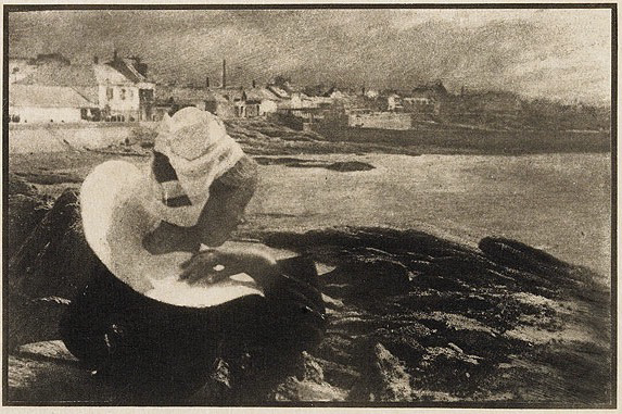 Robert Demachy, in Brittany, 1904