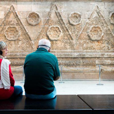 Nel Pergamon Museum, foto di Riccardo Ceppa