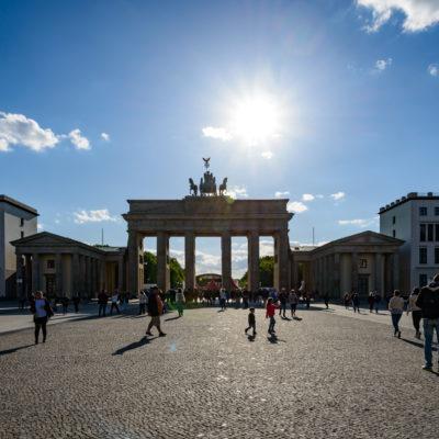 La porta di Brandeburgo, foto di Adriana Oberto