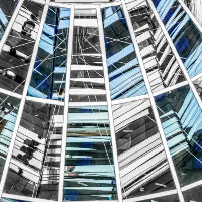 Nella cupola del Reichstag, foto di Adriana Oberto