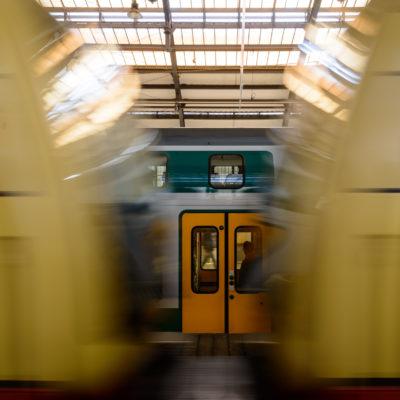 L'ultima metropolitana prima della partenza, foto di Adriana Oberto