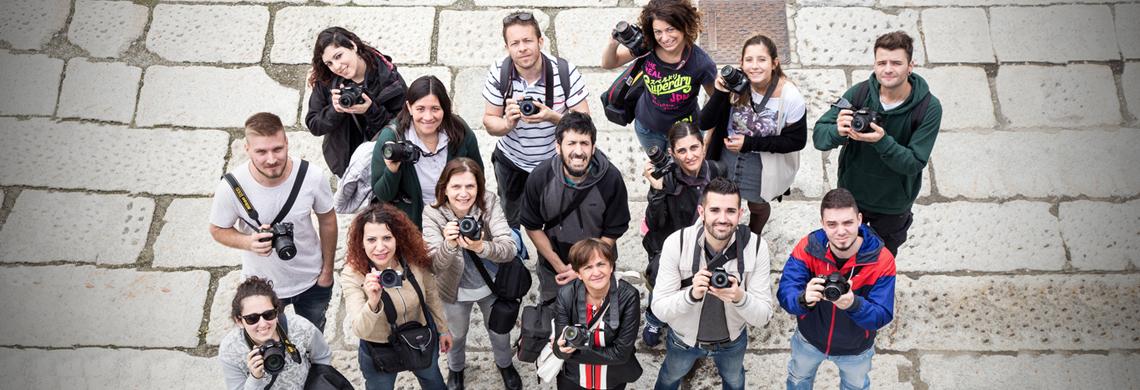 CORSO DI FOTOGRAFIA – livello base – Raccoglitori – dal 6 maggio