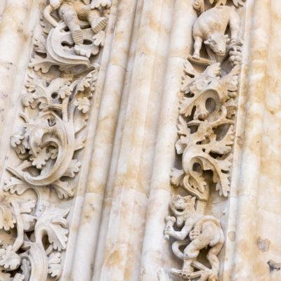 Particolare della Cattedrale di Salamanca, sbaglio o c'è un  Astronauta?