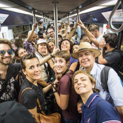 Gruppo Vacanze in Metro