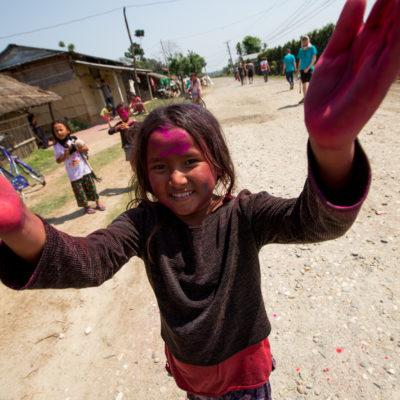 viaggio fotografico Nepal - Holi Festival Tharu