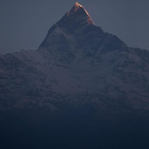 viaggio fotografico Nepal - Alba sull'Annapurna