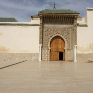 Porta del palazzo di Meknes