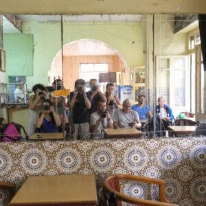 Il Gruppo al Caffe Tangis