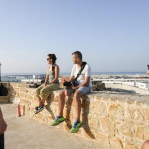 Sui bastioni portoghesi