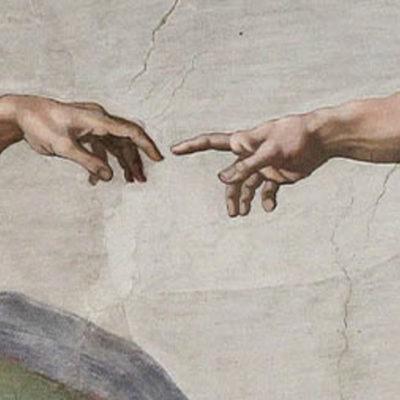 La creazione - Michelangelo (particolare)