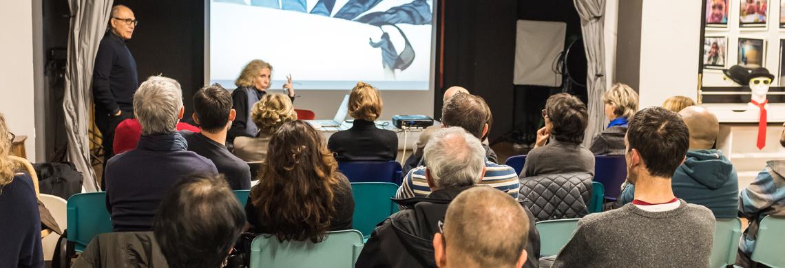 Scrivere con la luce e con le idee: i progetti di Tiziana e Gianni Baldizzone
