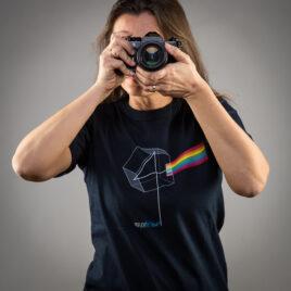 T-Shirt DARK SIDE Modello Donna