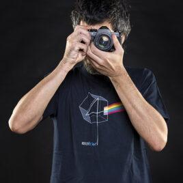 T-Shirt DARK SIDE Modello Uomo