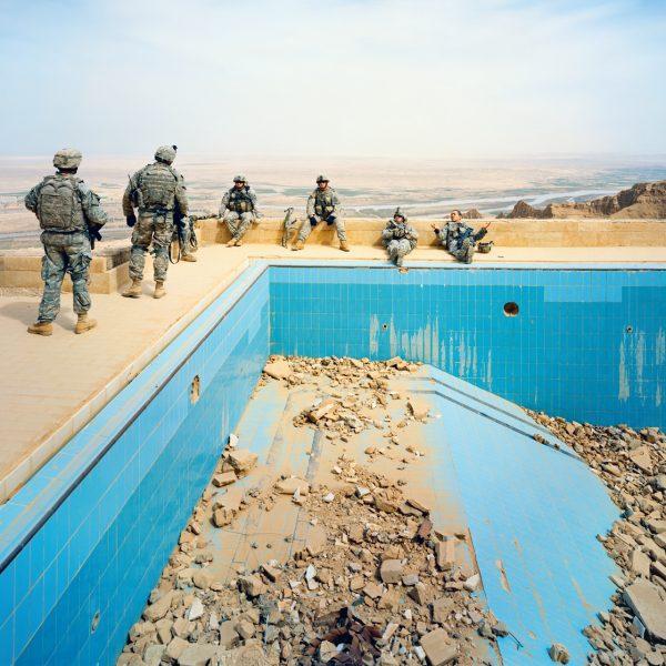 Pool at Uday's Palace, Salah-a-Din Province, Iraq